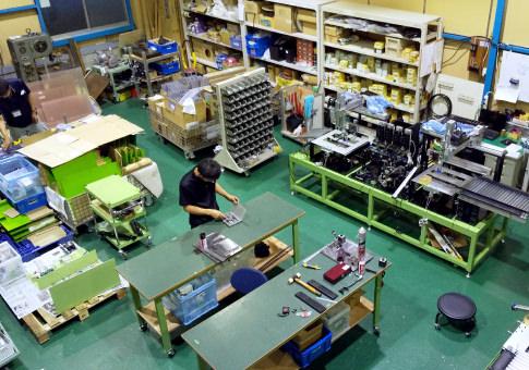 枚方営業所の工場内部のイメージ写真